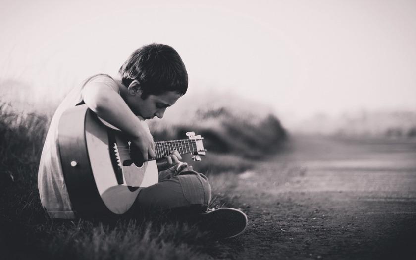 little boy guitar
