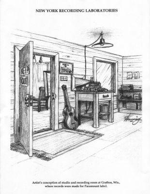 Paramount Records Recording Studio