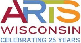 Arts Wisconsin logo celebrating 25 years